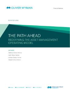 The Path Ahead – Redefining the Asset Management Operating Model - en