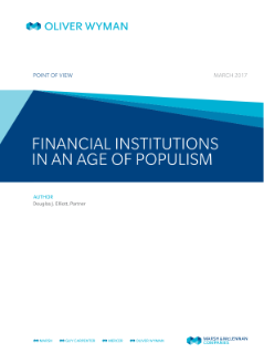 Financial Institutions in an Age of Populism